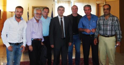 Συναντήσεις Αντιπροσωπείας του Δ.Σ. της Ο.Λ.Τ.Ε.Ε. στο Υπουργείο Παιδείας