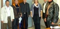 Η Σταυρούλα Ξουλίδου με τους Εκπαιδευτικούς της Τ.Ε.Ε.