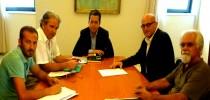 30-7-2013 Το Δ.Σ. της Ο.Λ.Τ.Ε.Ε. στον Υφυπουργό κ. Κεδίκογλου