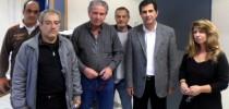 14-11-2013 Συνάντηση κ. Γκιουλέκα με το ΔΣ ΟΛΤΕΕ και αντιπροσωπεία Εκπαιδευτικών σε Διαθεσιμότητα