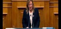 27-1-2014 Τοποθέτηση Σταυρούλας Ξουλίδου στη Βουλή
