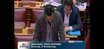 Ερώτηση του βουλευτή Τάσου Κουράκη για την διαθεσιμότητα των εκπαιδευτικών