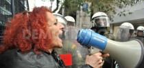 7-2-2014 Φωτο-ρεπορτάζ από την συγκέντρωση διαμαρτυρίας μπροστά στο ΣτΕ