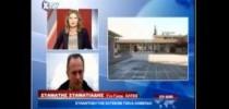 27-8-2014. O Γ.Γ. της Ο.Λ.Τ.Ε.Ε. Σταμάτης Σταματιάδης τηλεφωνικά στο δελτίο ειδήσεων της XTV