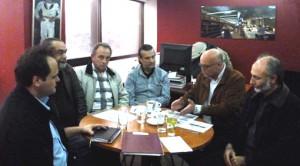 Συνάντηση κ. Τάσου Κουράκη με αντιπροσωπεία της ΟΛΤΕΕ