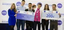 4η στον τελικό του διαγωνισμού νεανικής επιχειρηματικότητας Young Business Talents με εικονικές επιχειρήσεις, η ομάδα μαθητών του 1ου ΕΠΑ.Λ. ΑΜΠΕΛΟΚΗΠΩΝ ΘΕΣΣΑΛΟΝΙΚΗΣ