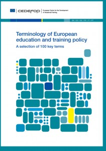 CEDEFOP, Terminology of European education and training policy